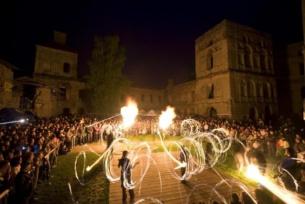 Teatr Ognia na zamku Krzyżtopór