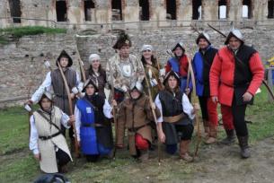 Międzynarodowy Turniej Rycerski na Zamku Krzyżtopór w Ujeździe 2011