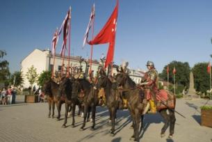 Rycerze w Opatowie