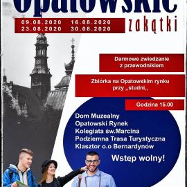 Zwiedzanie Opatowa z przewodnikiem.