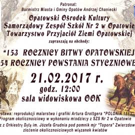 Obchody 153 – ej rocznicy Bitwy Opatowskiej