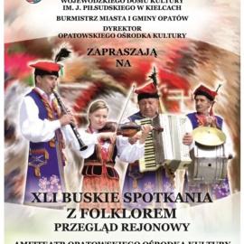 Przegląd Rejonowy XLI Buskich Spotkań z Folklorem