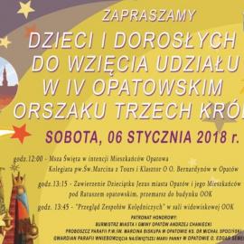 IV Opatowski Orszak Trzech Króli